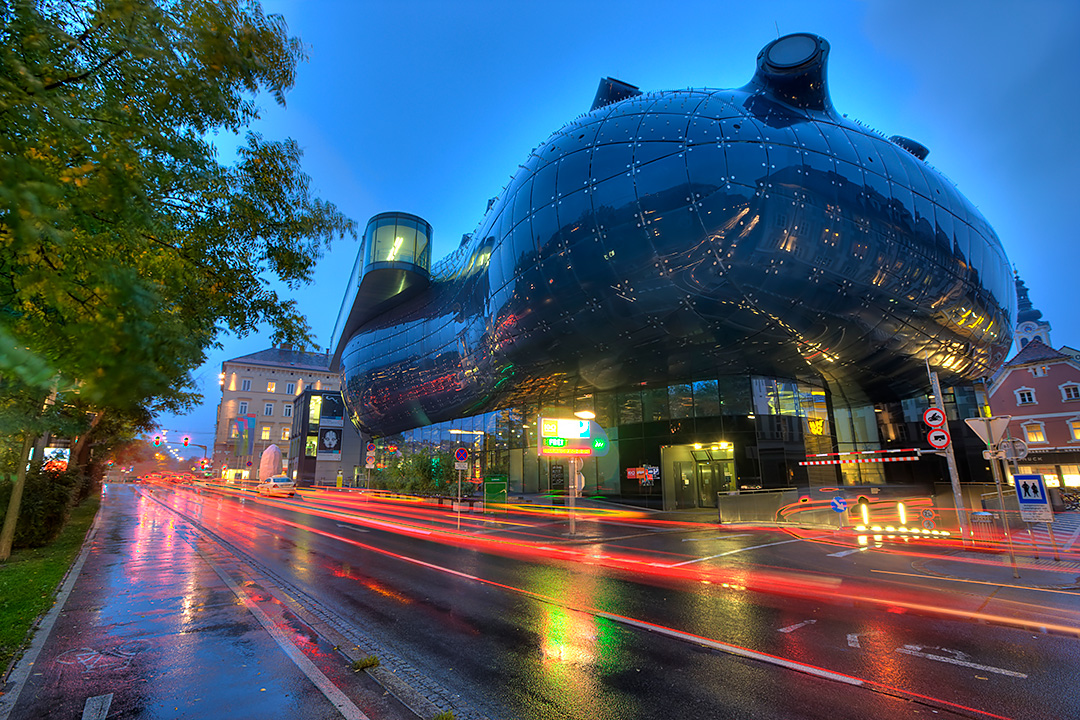Graz-Kunsthaus/House of Arts